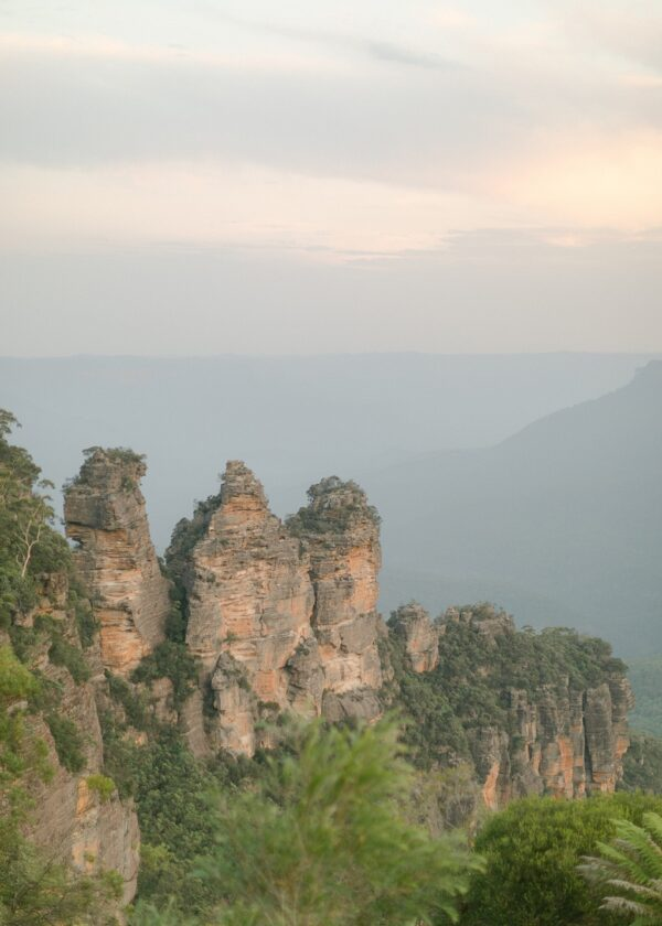 Three Sisters Blue Mountains Print