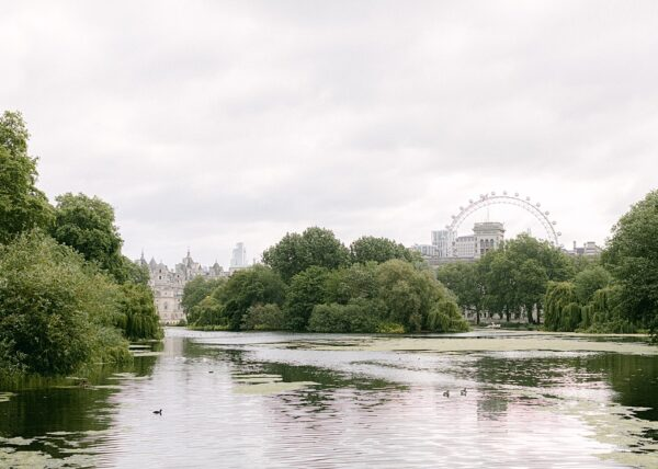 The view from St James's Park