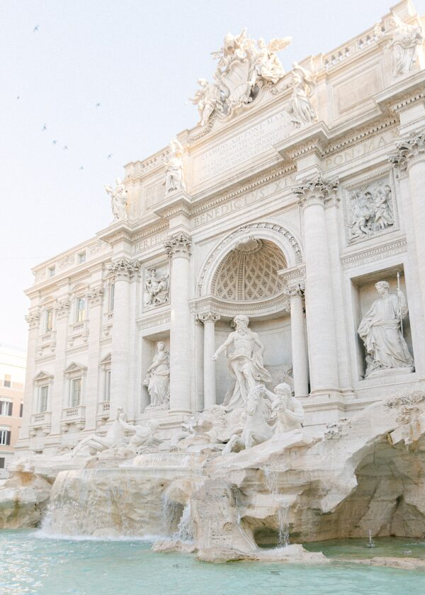 Trevi Fountain Rome Print
