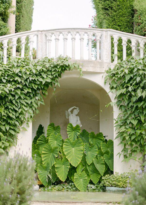 VILLA EPHRUSSI DE ROTHSCHILD. Florentine Garden.