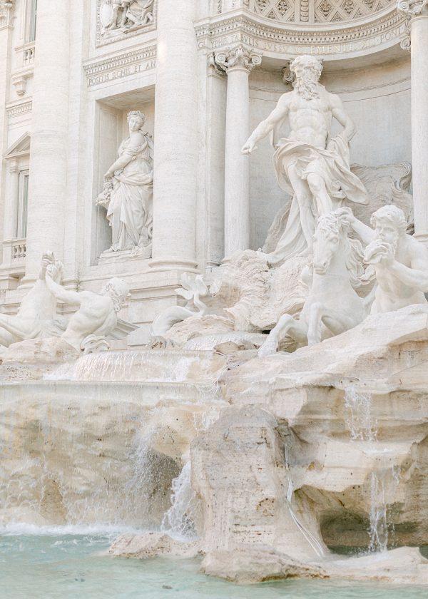 Rome, Trevi Fountain. Holly Clark Editions. Print Shop.