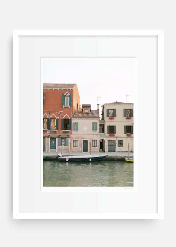 Venetian Canal Houses