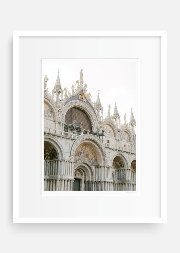 Basilica di San Marco, Framed Fine Art Print.