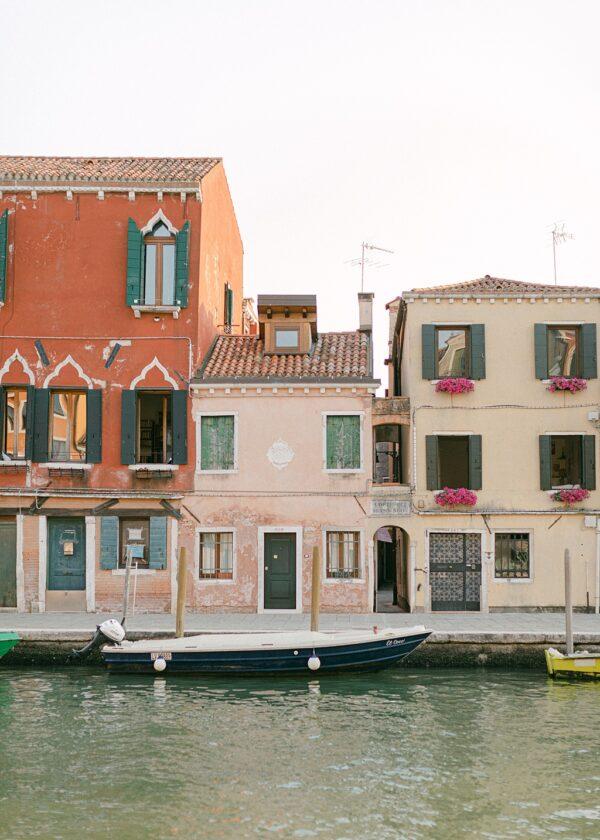 Venice Canal Houses Print