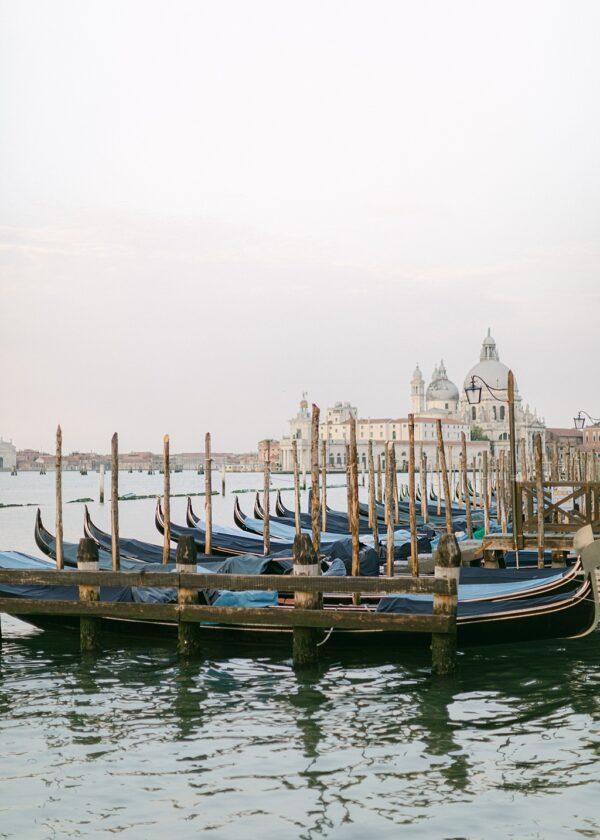 Venice Gondolers. Fine Art Print.