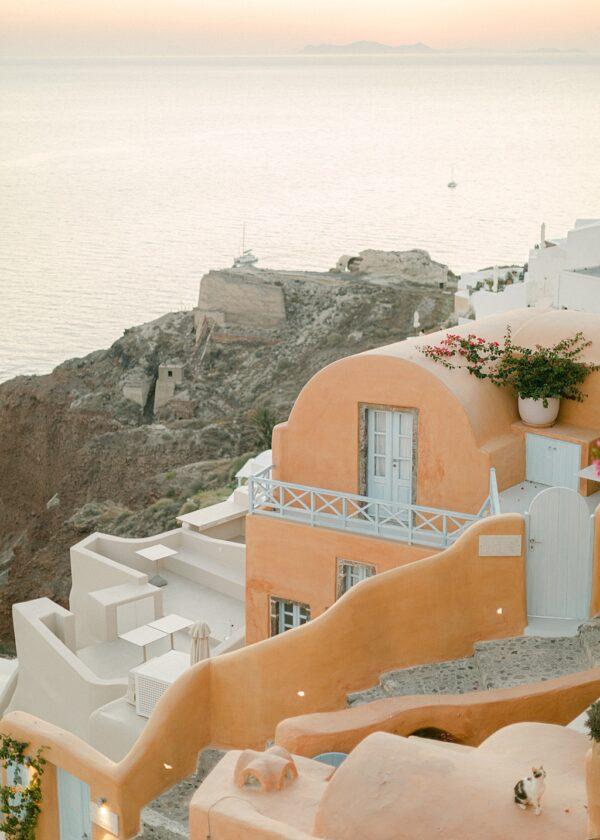 Houses in Santorini, Oia.