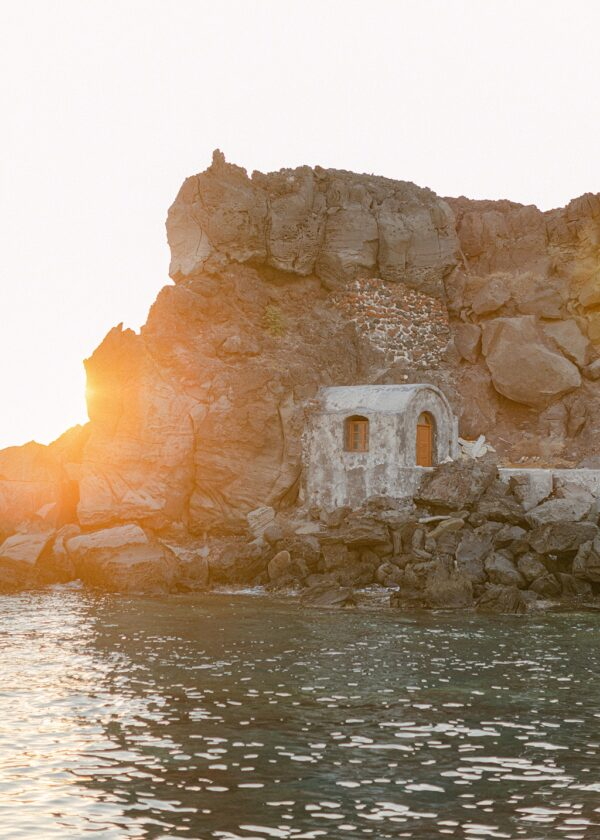 Saint Nicholas Island, Oia Print