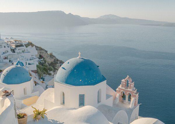Blue Domes, Santorini, Oia