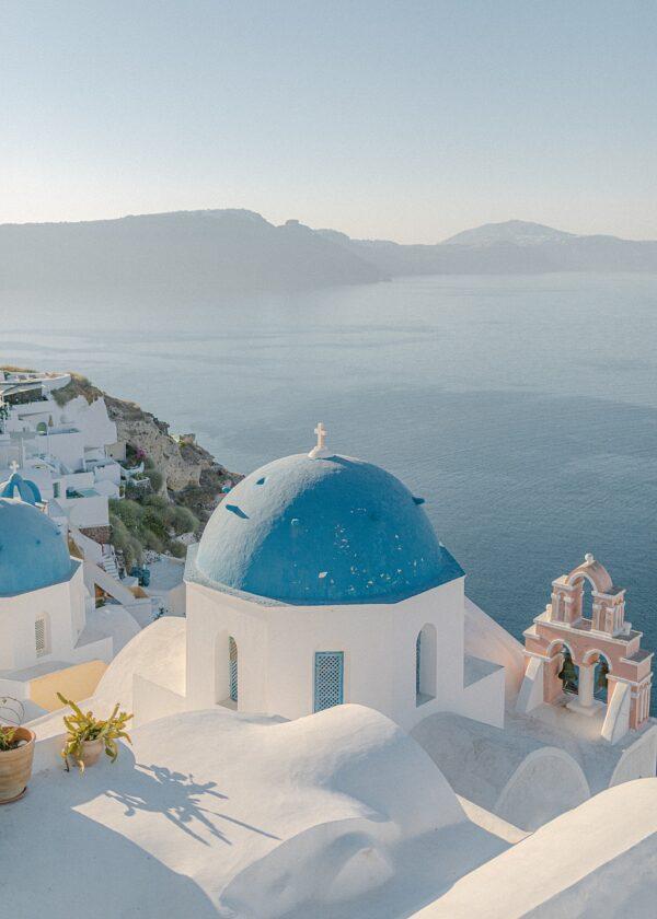 Santorini, Oia Blue Domes