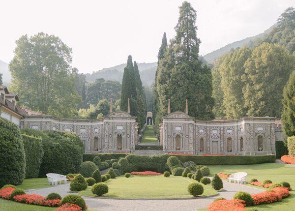 Villa d'Este Mosaic Gardens. Lake Como.