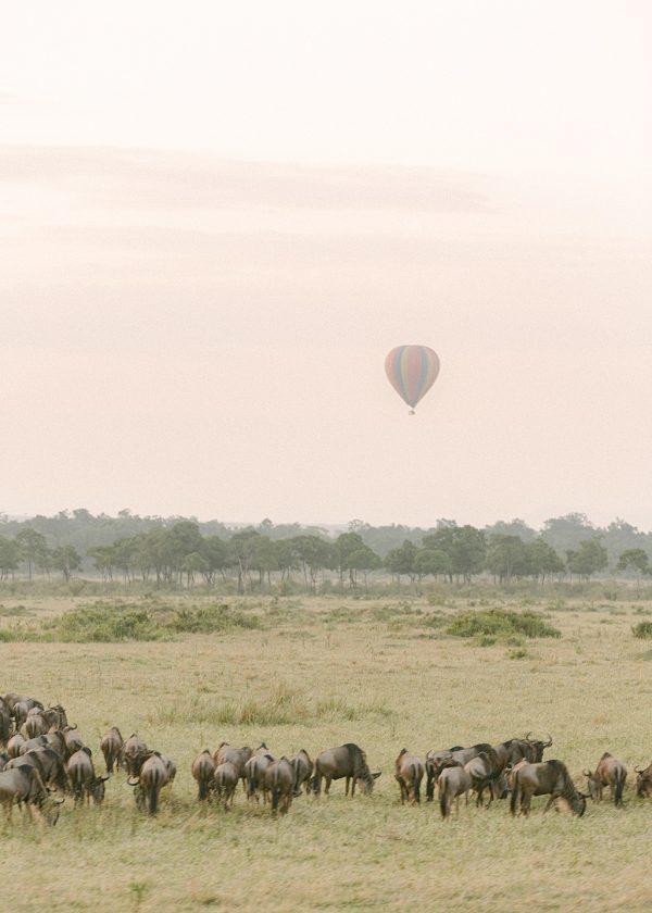 kenya sunrise balloon