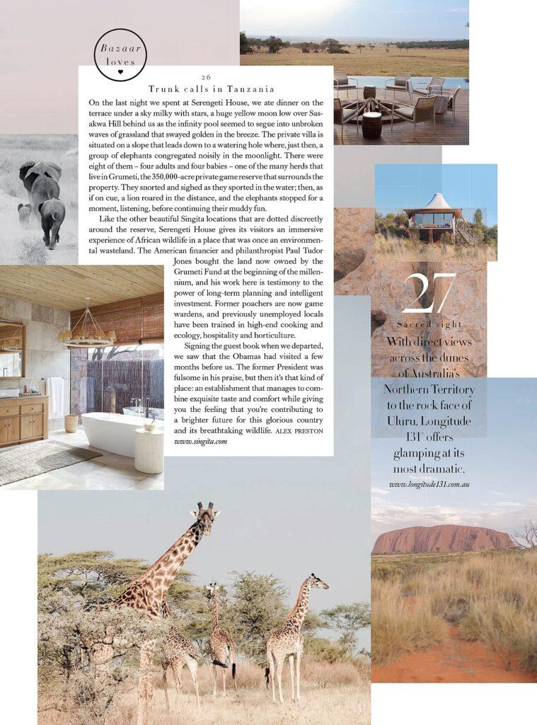 Great Plains - Harpers Bazaar Travel Guide 2020