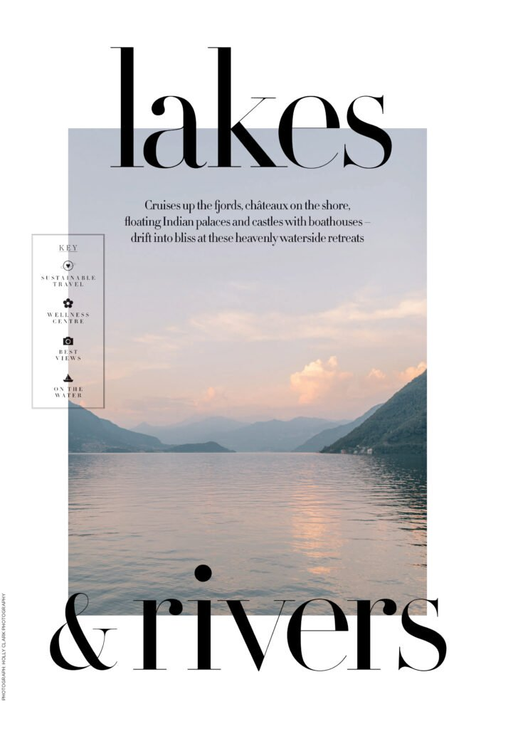 lakes and rivers harpers bazaar travel guide 2020