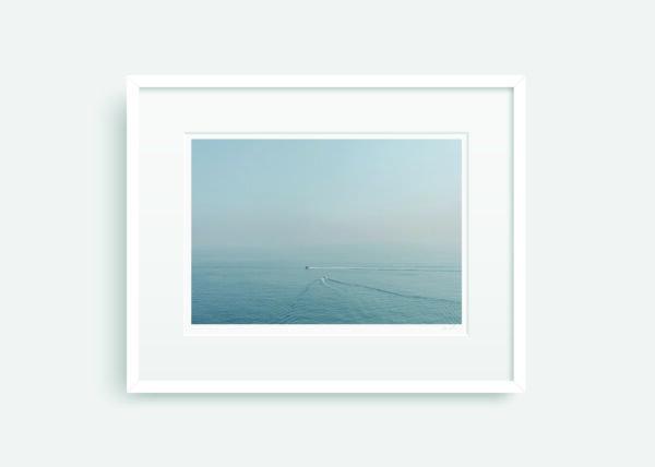 Sailing in Monaco Framed Print