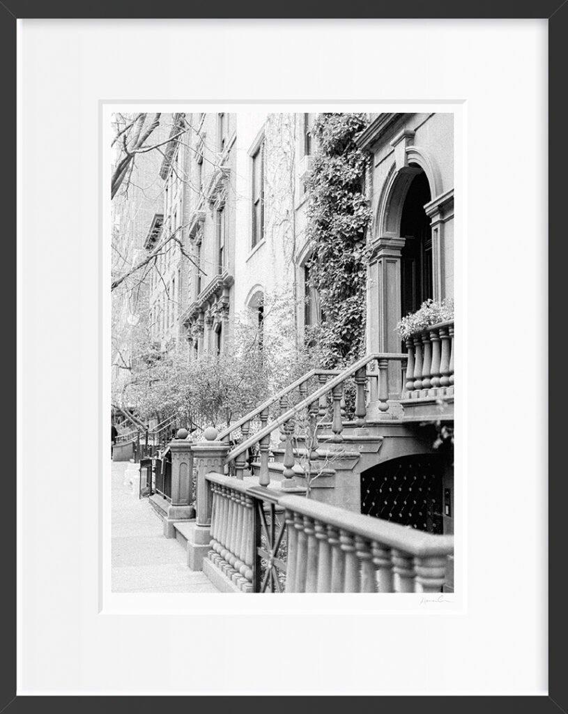 West Village Framed Fine Art Print