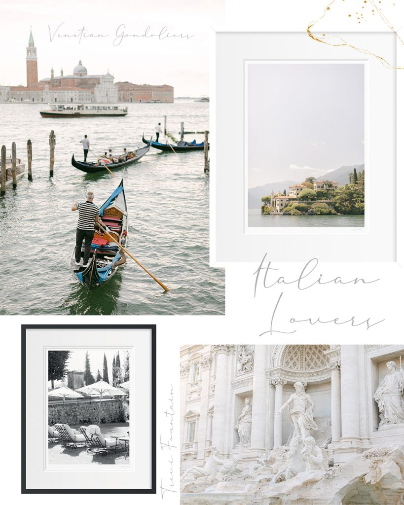 Italian Lovers Gift Guide - Holly Clark Editions - Fine art print shop.